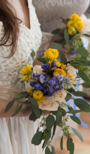 wedding flowers rustic barn Wisconsin