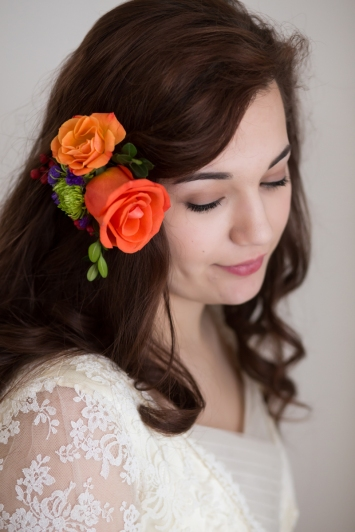 Elm Grove Wisconsin wedding florist garden wedding