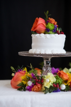 Racine wedding florist waterford event