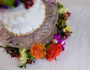 flower ring wedding florist Burlington