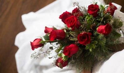 lake geneva wisconsin winter bouquet