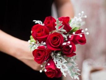 Racine wedding floral design bridal bouquet
